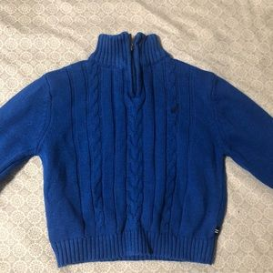 Nautica cable knit sweater 12 months